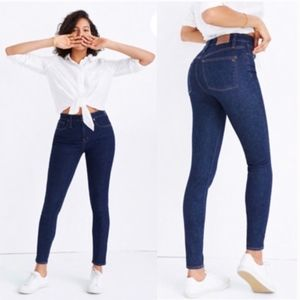 Madewell Curvy High Rise Skinny Jeans | Lucille